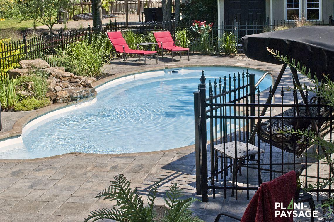 cascade et chute d 39 eau piscine plani paysage. Black Bedroom Furniture Sets. Home Design Ideas