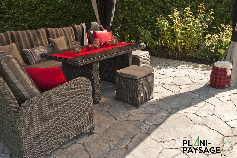 Relaxation au salon ext rieur plani paysage for Relax exterieur