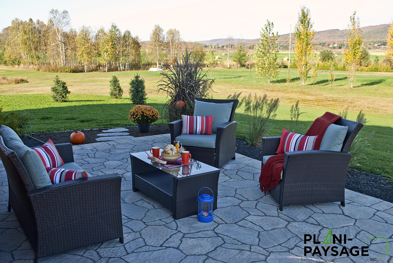 d tente ext rieur au jardin plani paysage. Black Bedroom Furniture Sets. Home Design Ideas