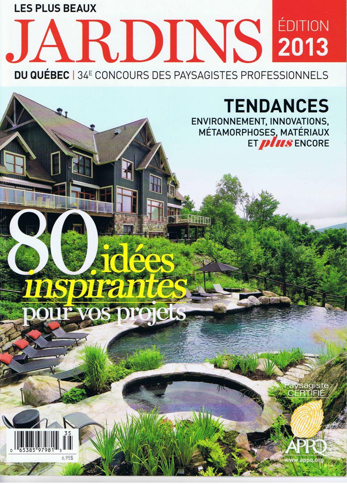 Les plus beaux jardins 2013 - Plani-Paysage