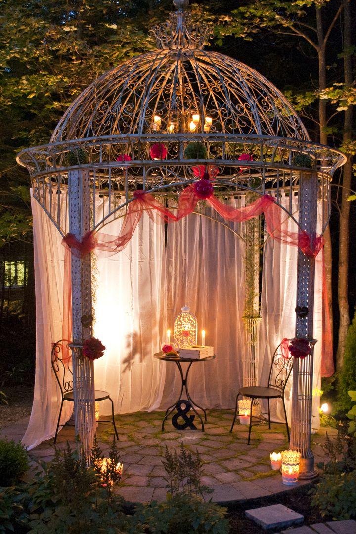 Mariage Jardin Nuit