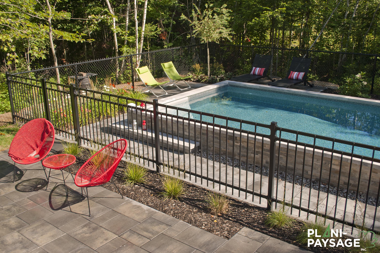 Am nagement paysager piscine europea plani paysage for Paysagement exterieur