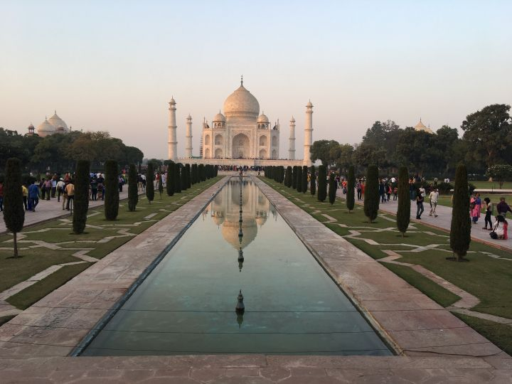 Jardin Inde Taj Mahal