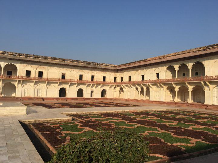 jardin Inde Fort Rouge